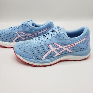Asics Gel Cumulus 20 Grade School Blue White Pink